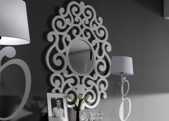 Espejo lacado y calado mod: ROMA