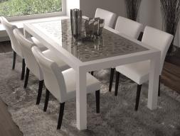 Mesa de comedor fija. mod: CASSANDRA