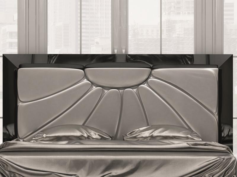 Cabecero lacado y tapizado, mod: SURAYA