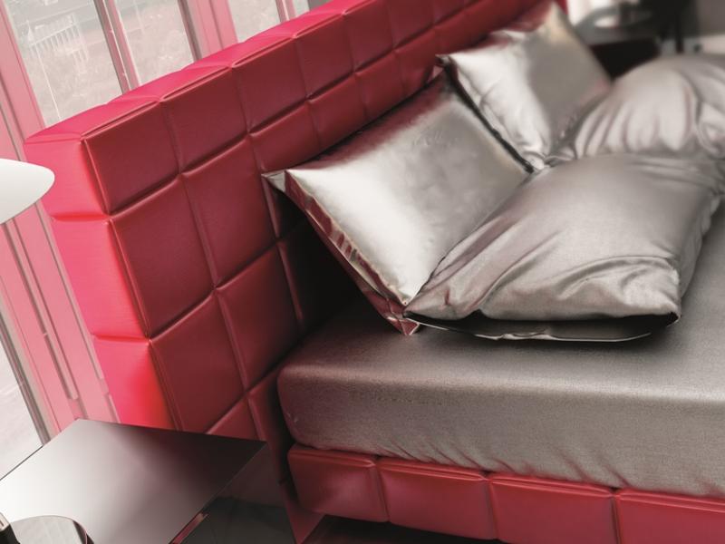 Cama completa tapizada, mod: YASMIN