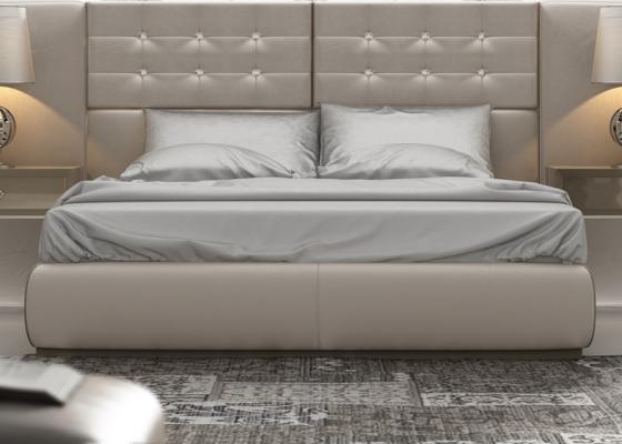 Base cama  tapizada. Mod. ZAHINA