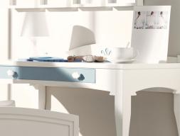 Mesa de estudio infantil. Mod. MERLIN 8012