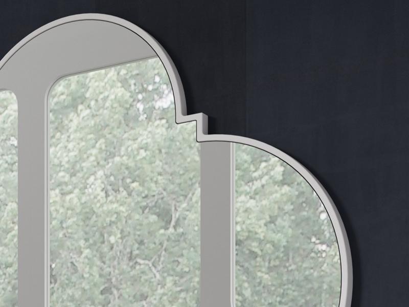 Espejo lacado, mod: NP168B