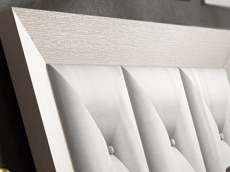 Cabecero roble tapizado, mod: MOSSA