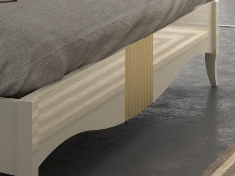 Base  de cama , mod: NP186LC