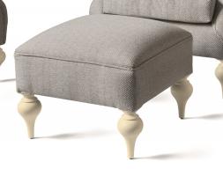 Pouff tapizado, mod: GA9427