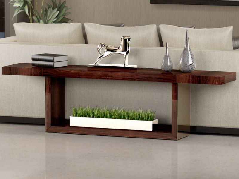 Mueble detr�s del sof�, mod: NAMUR