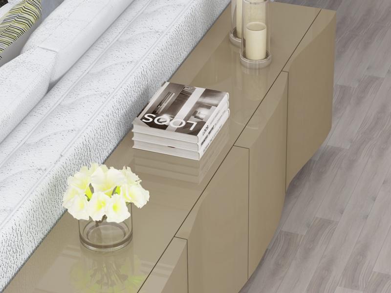 Mueble detr�s del sof�, mod: LIEJA