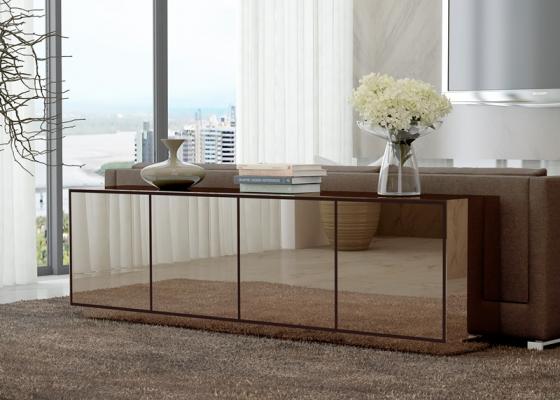 Mueble detrás del sofá, mod: ROUEN
