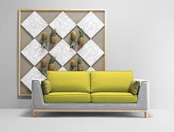 Sofá de 2 plazas. Mod. GATSBY 2PL