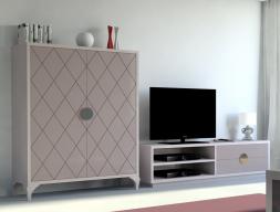 Composición modular, mod: HOME21