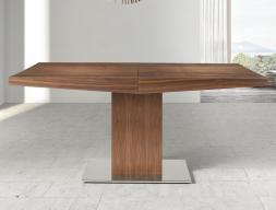 Mesa de comedor extensible, mod: DORIAN MADERA
