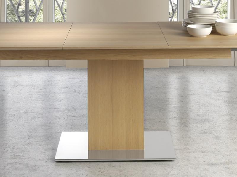 Mesa de comedor extensible, mod: NEW FORMA