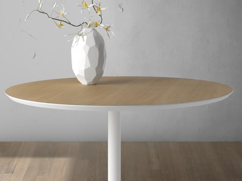 Mesa redonda fija .Mod: DONDA