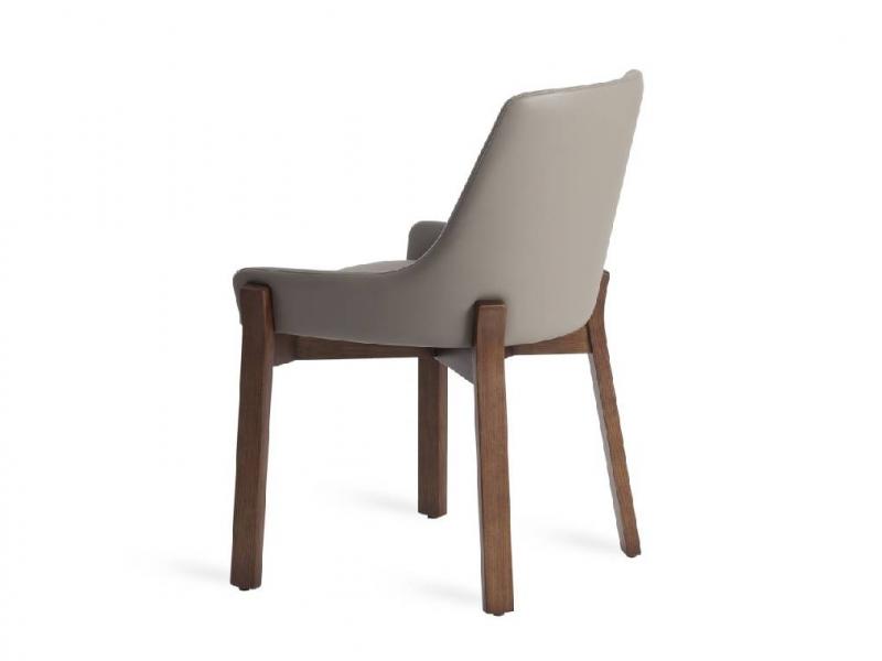 Juego de 2 sillas tapizadas. Mod. TWIN