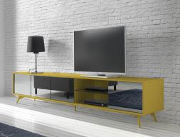 Mueble TV . Mod. MICHIGAN MOSTAZA