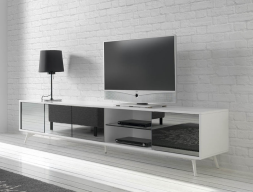 Mueble TV . Mod. MICHIGAN BLANCO