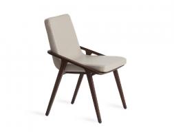Juego de 2 sillas tapizadas. Mod. NORA