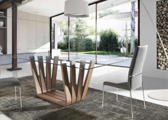 Mesa de comedor, mod: MILAN