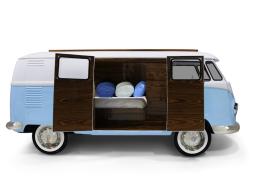 Cama caravana. Mod. BUN VAN