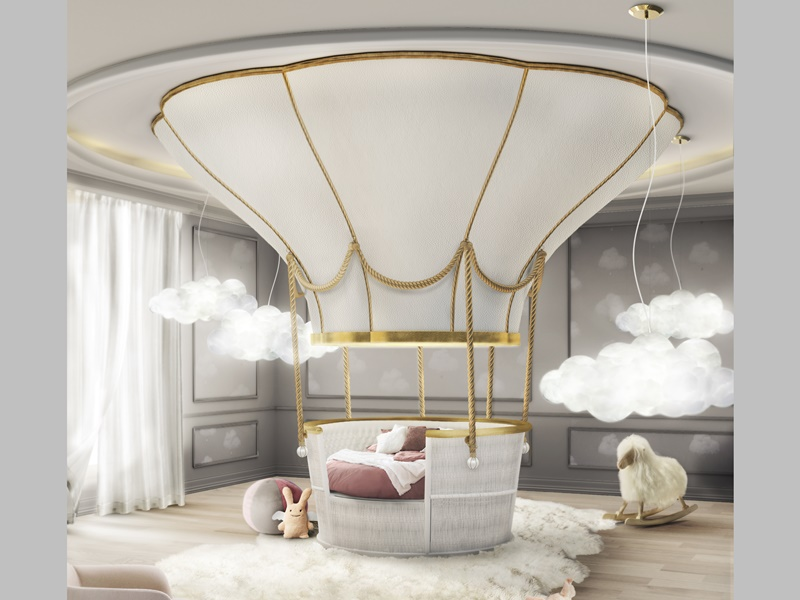 Cama globo. Mod. FANTASY AIR BALLOON