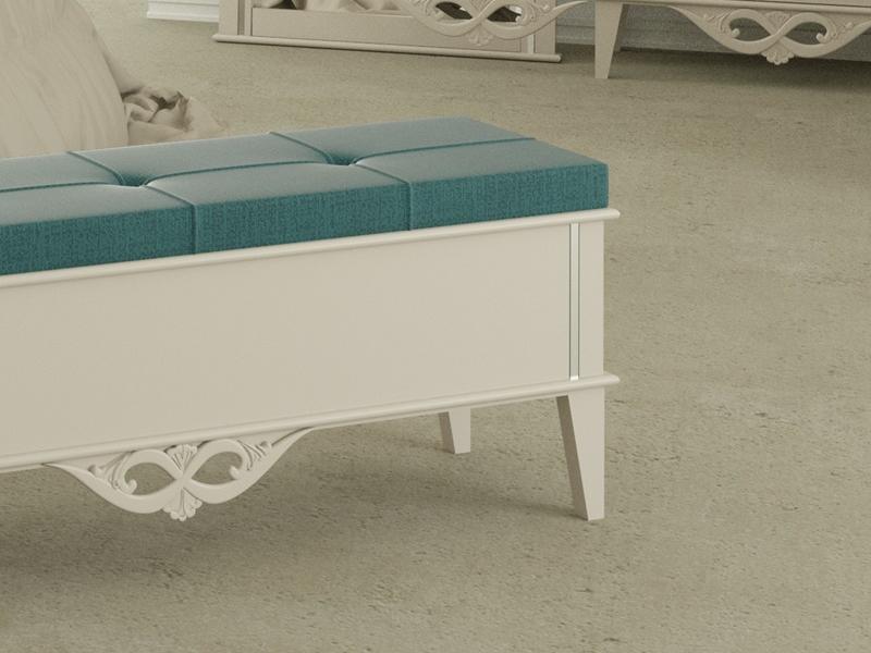 Banqueta tapizada, modelo: ROYAL2060