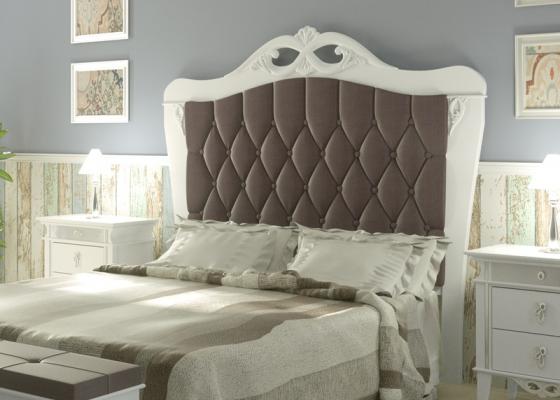 Cabecero lacado y tapizado, mod: ROYAL2210