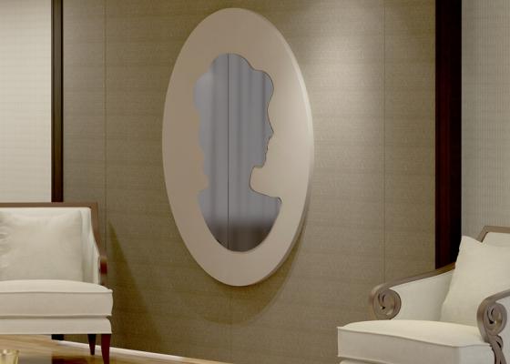Espejo, mod: ANTOINETTE OVAL
