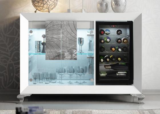 Mueble vinoteca. Mod: BOURGOGNE