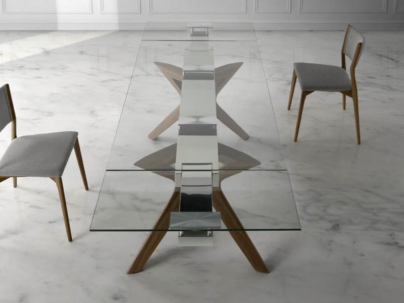 Mesa de comedor extensible.Mod: LIDIVINA