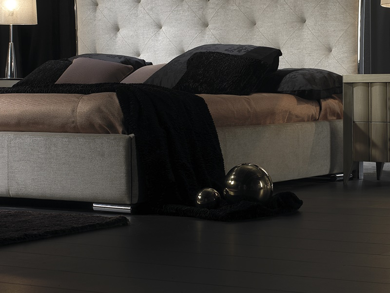 Base  de cama tapizada. Mod: ILUSI�N