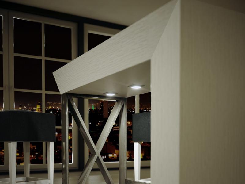 Barra de bar. Mod: CAVA