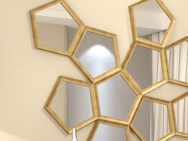 Espejo. Mod: PANAL