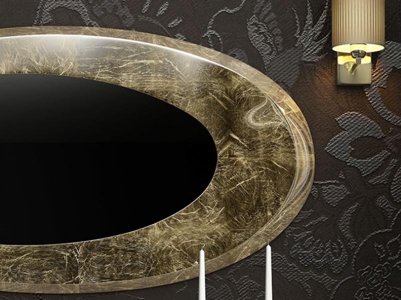 Espejo ovalado. Mod: EIFFEL PL