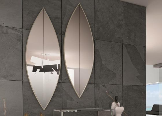 Conjunto de espejos biselados. Mod: RIO