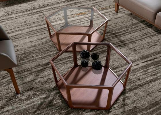 Mesa de centro. Mod. HEXA