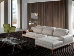 Sofa con chaise longue. Mod. STELLA-R