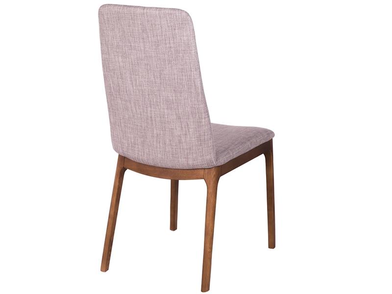 Juego de 2 sillas tapizadas. Mod. DAMA