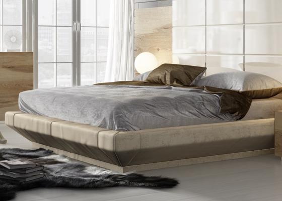 Base de cama tapizada. Mod: SOPHIA