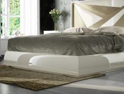 Base de cama lacada. Mod: HELENNA