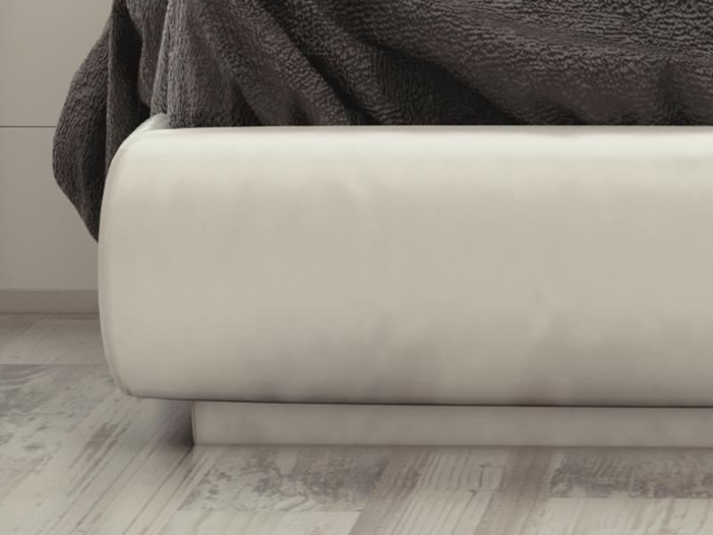 Base de cama tapizada. Mod: ATHENEA