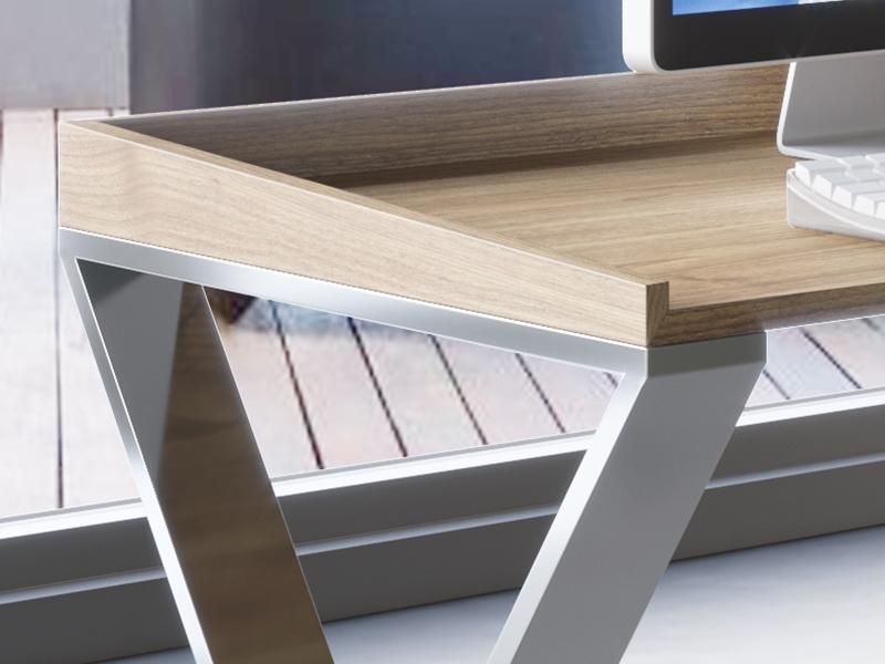 Mesa escritorio con un caj�n. Mod.EKIS