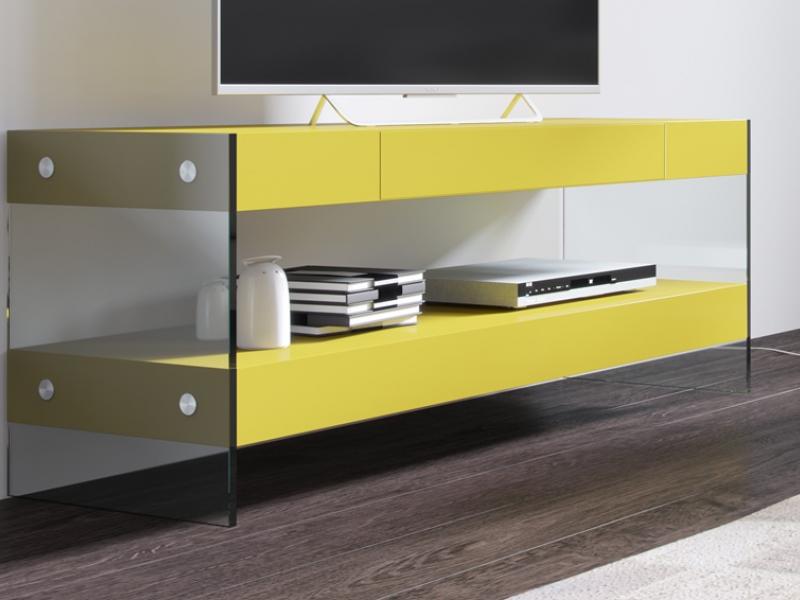 Mueble T.V lacado. Mod: LAXY