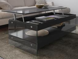 Mesa de centro elevable lacada. Mod: LAXY ELEVABLE