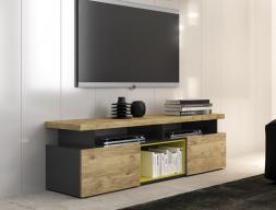 Mueble T.V moderno. Mod: ERBE