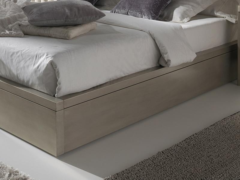 Base  de cama lacada. Mod: LOYRA CAMPAGNE