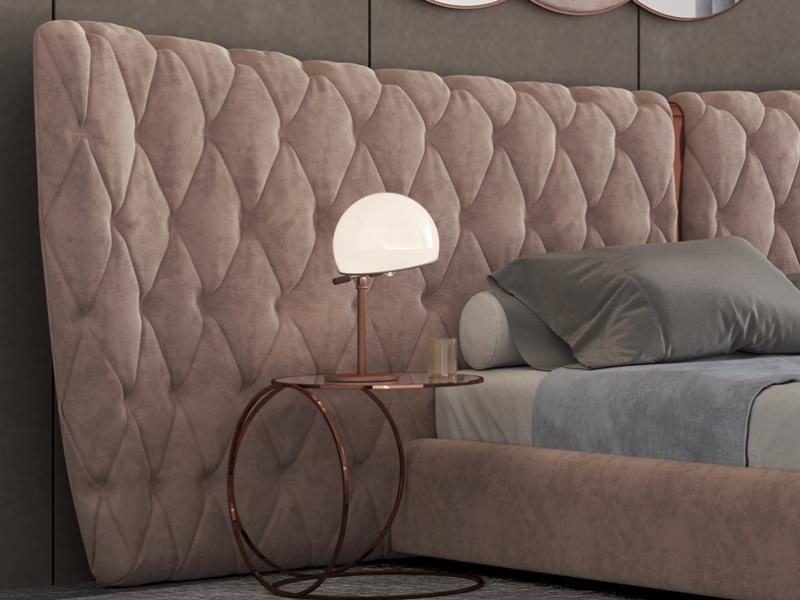 Cama completa tapizada. Mod: KAIPA XXL