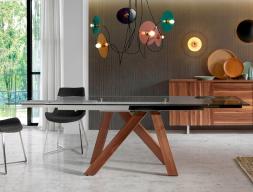Mesa de comedor extensible. Mod. MELVA