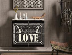 Cubreradiador .Mod: LOVE
