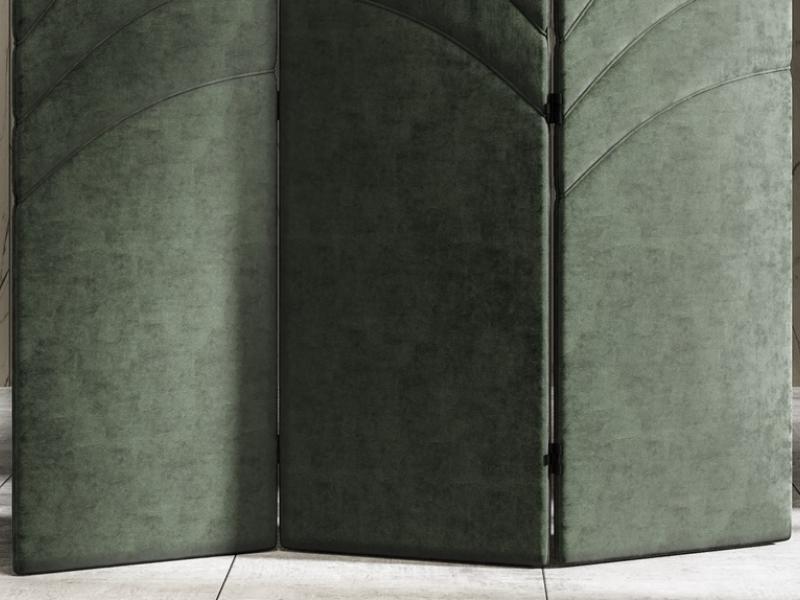 Biombo tapizado. Mod: DORIANNE